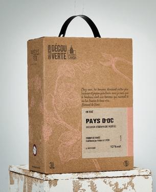 Rav 3l Igp Pays D'oc Rose