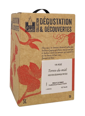 Rav 5l Igp Terres Du Midi Rose