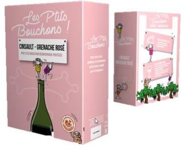 Bib 3l Igp Oc Cinsault Grenache Rose Les Petits Bouchons