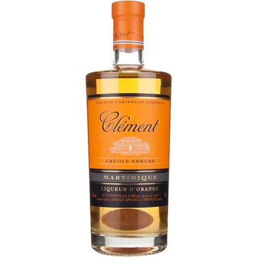 Schrubb Creole Liqueur D'orange Clement 40% 70cl