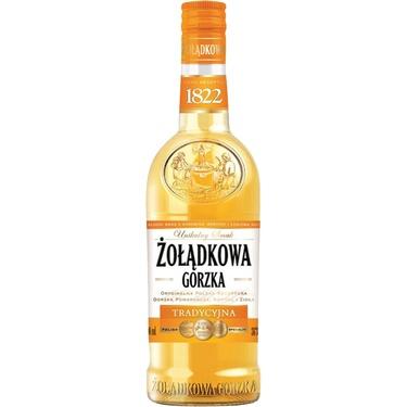 Boisson Spiritueuse A Base De Vodka Pologne Zoladkowa Gorzka Traditional 34%70cl