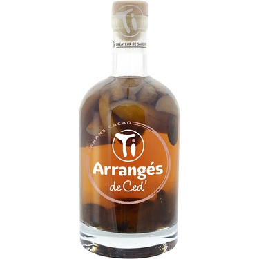 Punch Au Rhum Arranges De Ced' Banane Cacao 32% 70cl